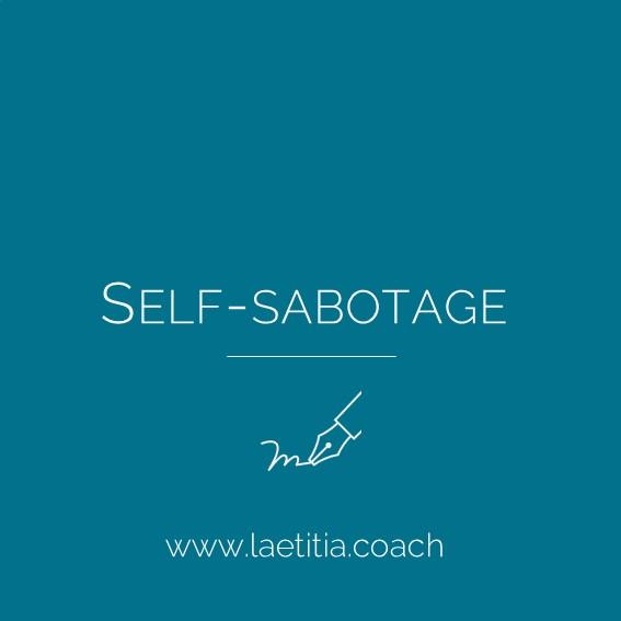 Self-sabotage-sticker
